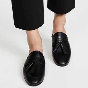 Sam Edelman Paris black tassel slip on loafers 9